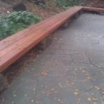 Rebuilt rotten benches on UC Berkeley campus