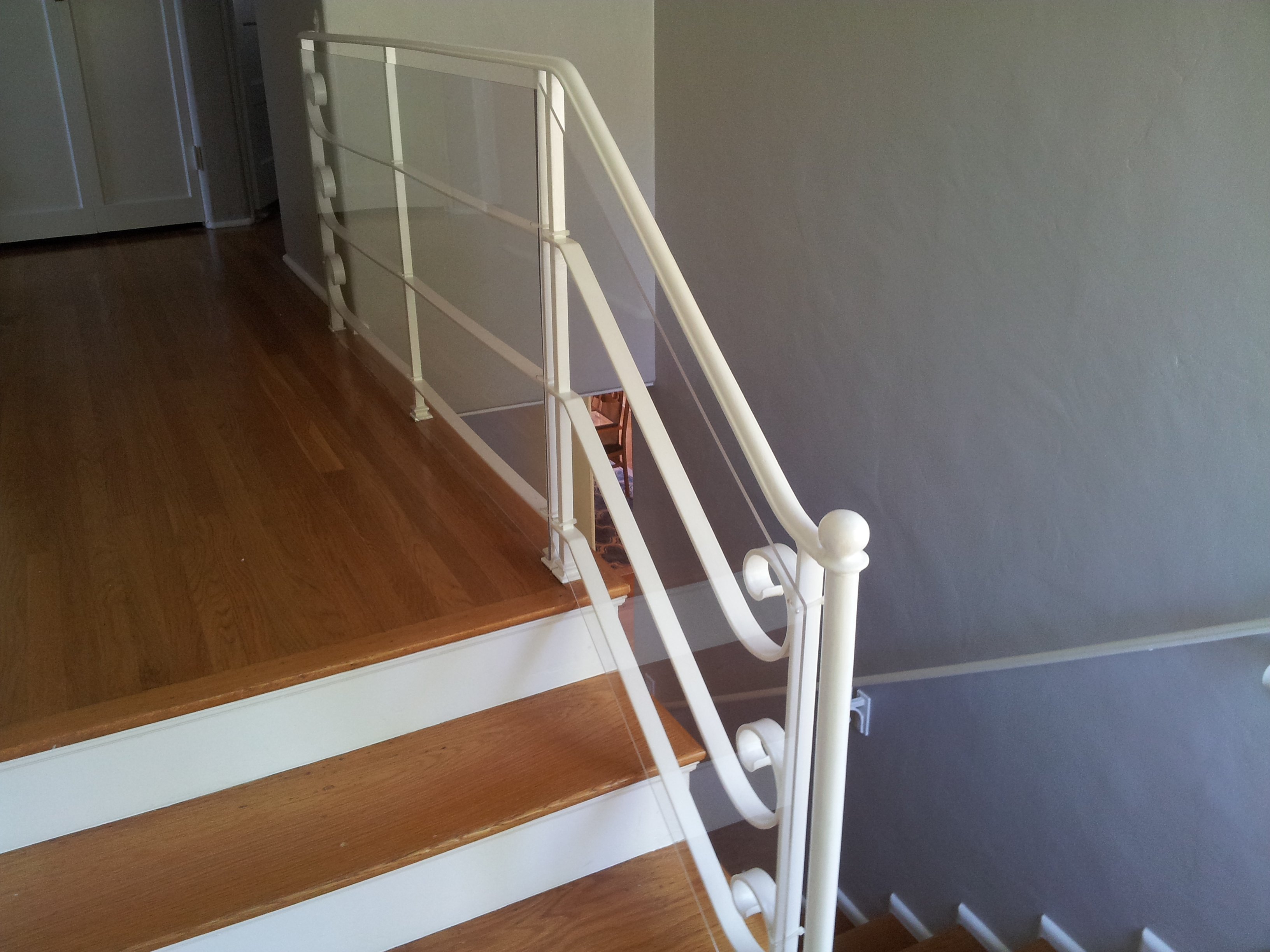 Baby Proofing Stair Railing