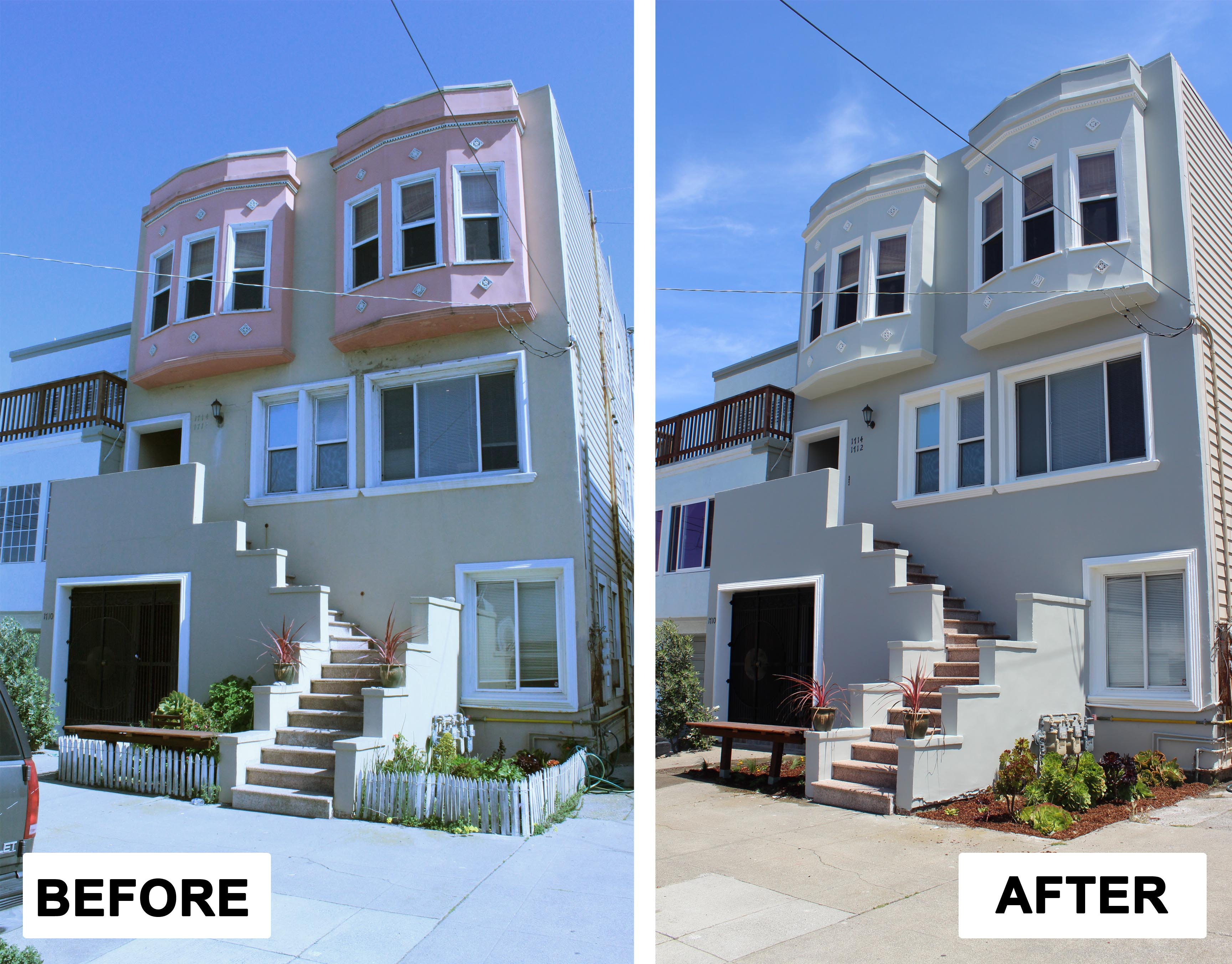 Before After Facade Meryl And Miller Llc