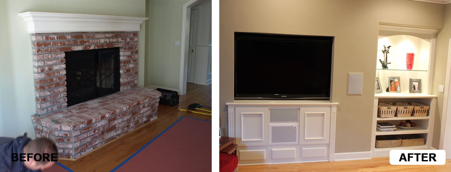 Before After Cabinets