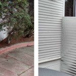 Before & After: A client needed a new fence and saw one in the neighborhood she liked so we replicated the look for her.