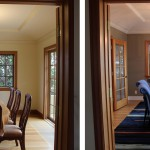 Before & After: worked with client to select paint colors, oversaw hardwood flooring crew