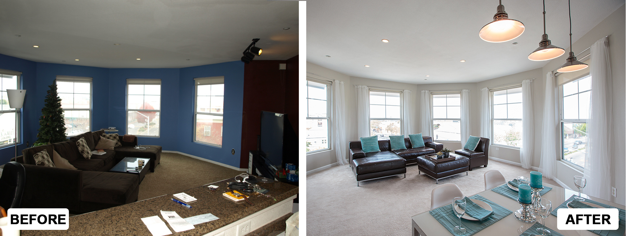 Before Amp After Interior Meryl And Miller Llc