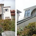 Before & After: Selected exterior paint colors and oversaw painting crew repainting building.