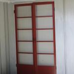 Repaired, rescreened and repainted customer's screen doors.