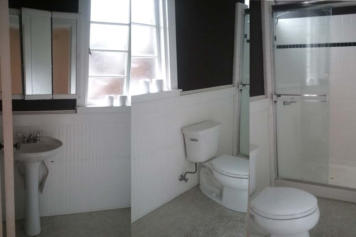 Before bathroom renovation