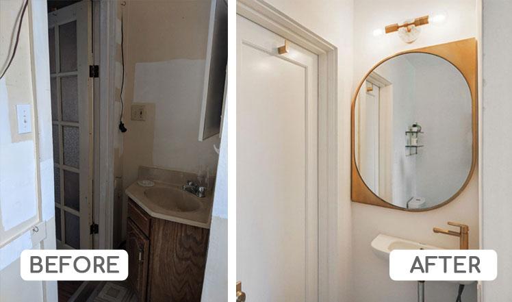Micro unit bathroom