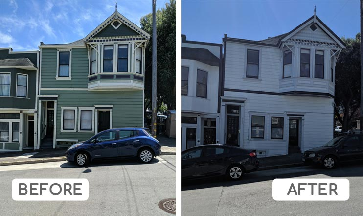 Color consultation Noe Valley