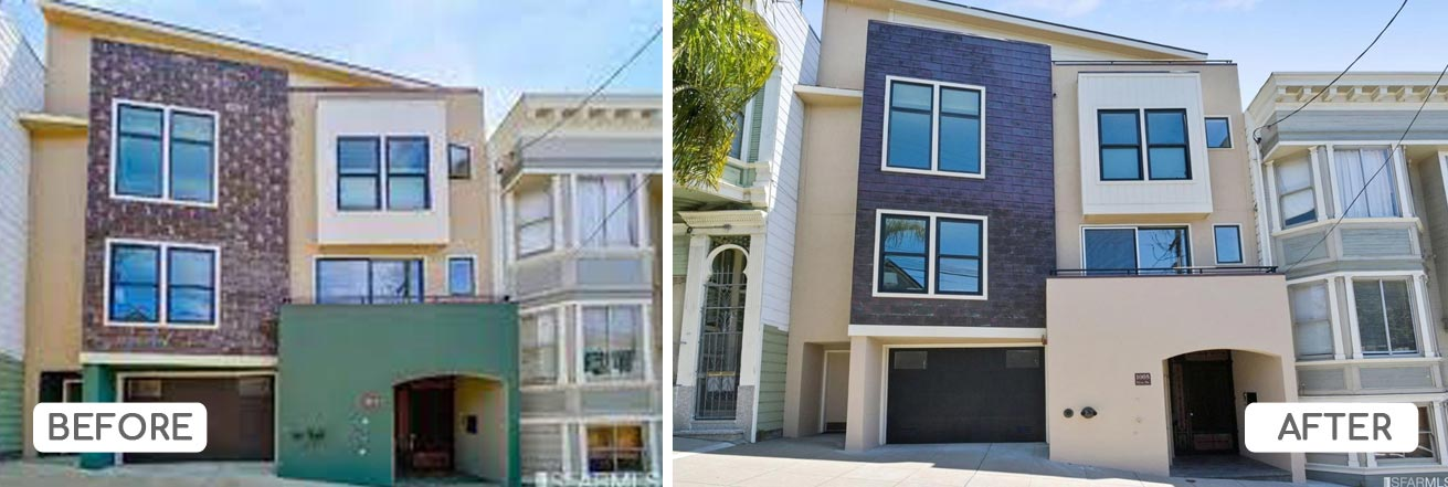 Noe Valley color consultation with HOA
