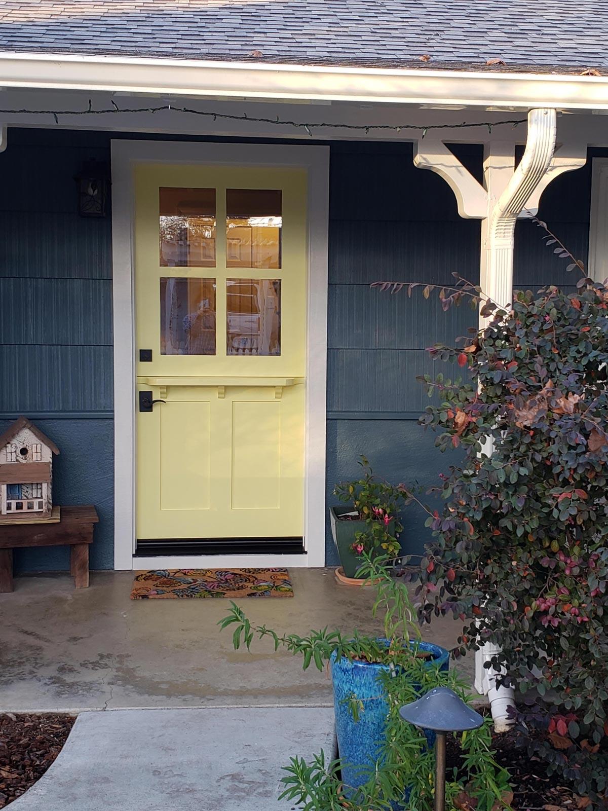 Door paint color consultation
