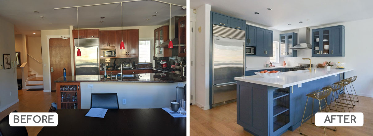 Kitchen color refresh